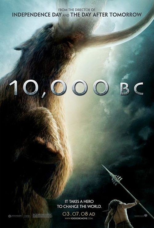 10,000 B.C. Poster