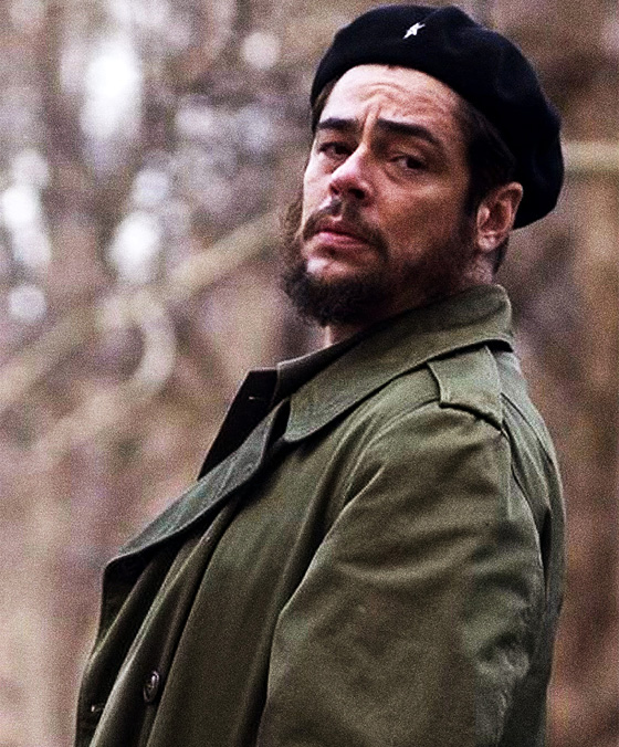 Benicio Del Toro as Che Guevara