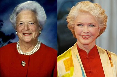 Ellen Burstyn as Barbara Bush