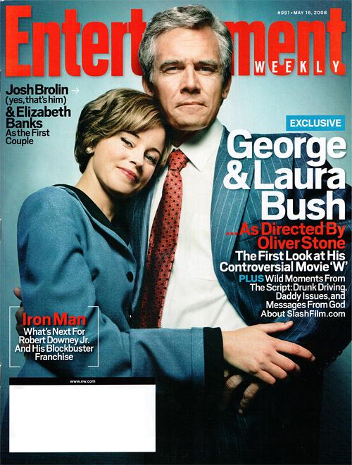 Josh Brolin and Elizabeth Banks as Mr. and Mrs. George W. Bush