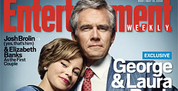 First Look: Josh Brolin and Elizabeth Banks as Mr. and Mrs. George W. Bush!