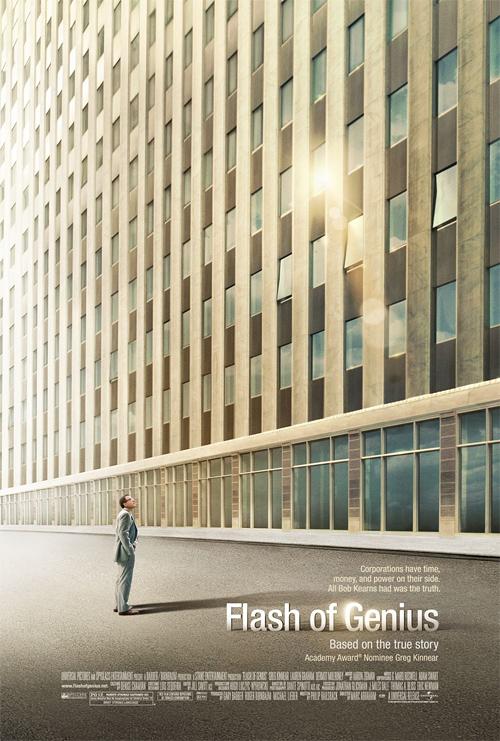 Flash of Genius Poster