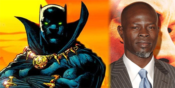 Djimon Hounsou as Black Panther