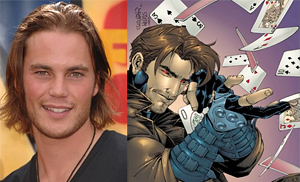 Taylor Kitsch Playing Gambit In Wolverine Trilogy