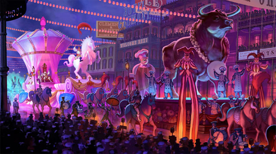 The Princess and the Frog Concept Art