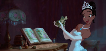 Beautiful Princess and the Frog Concept Art from Disney