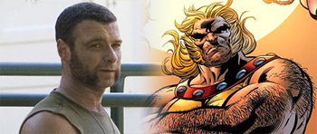 First Look: Liev Schreiber as Sabretooth in Wolverine