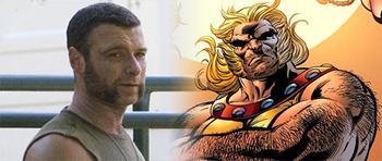 First Look: Liev Schreiber as Sabretooth in Wolverine