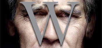 First Look: Oliver Stone's W Teaser Poster