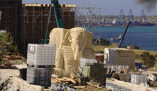 Alejandro Amenábar's Agora Set in Delimara, Malta