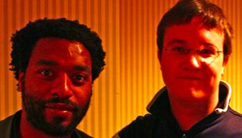 Alex Billington and Chiwetel Ejiofor