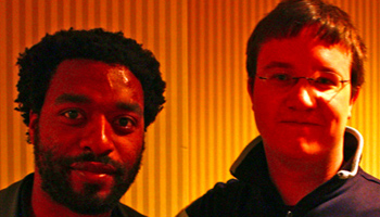 Alex Billington and Chiwetel Ejiofor