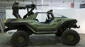 Halo: Arms Race Warthog