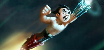 First Photos of Fully Rendered CGI AstroBoy!
