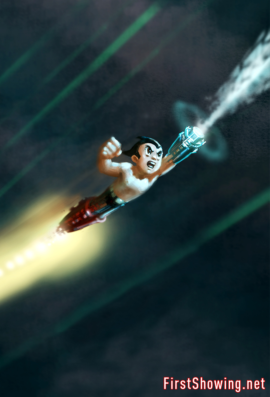 Exclusive Astroboy Concept Art And Director Interview Astro Boy The Movie Action Figure Original