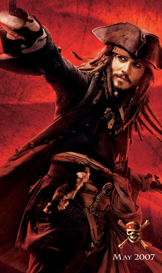 Pirates of the Caribbean: At World's End Poster