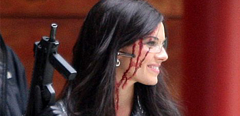 G.I. Joe Set Photos: Sienna Miller as Bloody Baroness