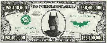 The Dark Knight - $158,400,000