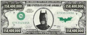 The Dark Knight - $158,400,000