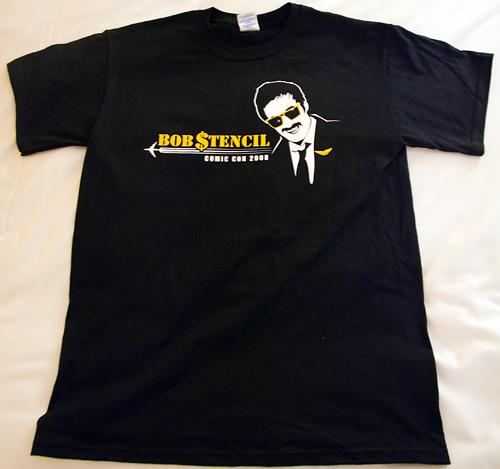 Bob Stencil - Comic-Con 2008 T-Shirts