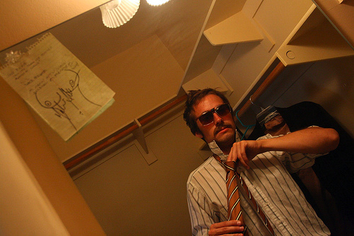 Bob $tencil at Comic-Con 2008