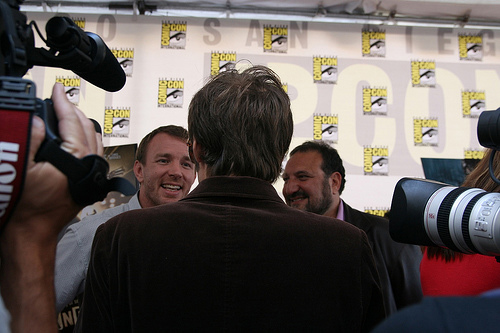 Bob $tencil at Comic-Con 2008
