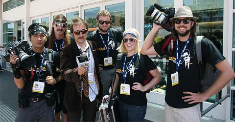 Bob $tencil's Comic-Con Crew