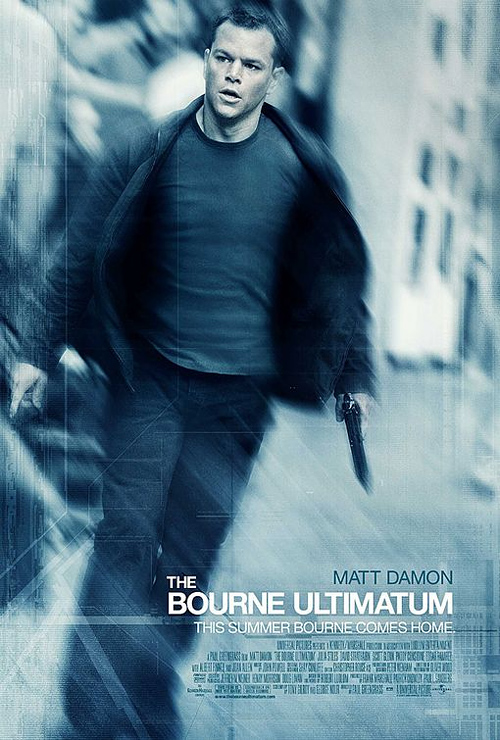 Bourne Ultimatum Poster