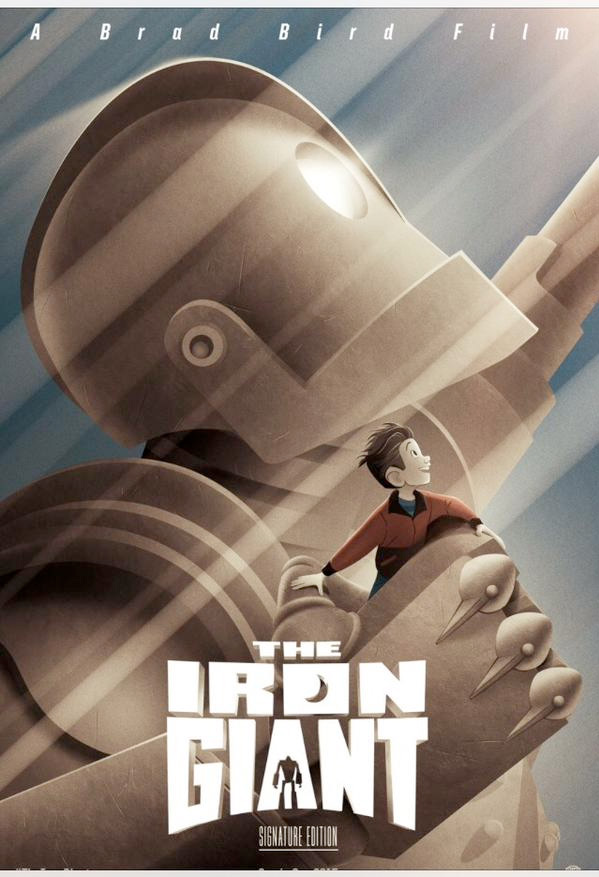 The Iron Giant Signature Edition Poster