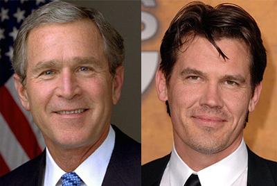 Josh Brolin as George W. Bush