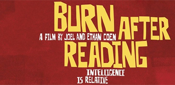 Awesome Saul Bass Style Burn After Reading Poster!