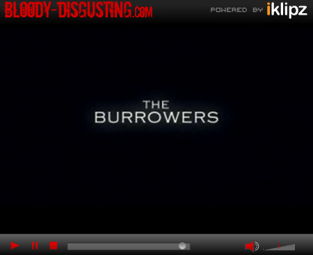 The Burrowers Trailer border=