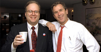 George W. Bush and Karl Rove