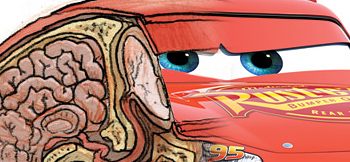Check This Out: The Guts of Lightning McQueen From Cars!