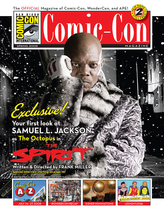 Samuel L. Jackson as The Octopus