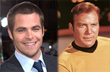 Chris Pine is Captain Kirk
