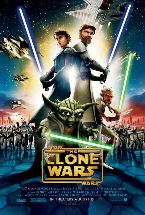 Star Wars: The Clone Wars Poster