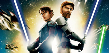 Slick New Poster for Star Wars: The Clone Wars