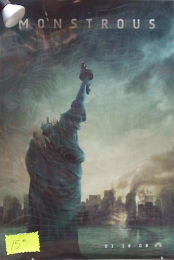 Cloverfield / 1-18-08 / Monstrous Poster?