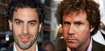 Sacha Baron Cohen and Will Ferrell