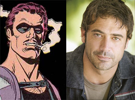 Jeffrey Dean Morgan is The Comedian