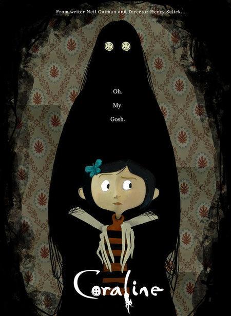 Coraline teaser poster