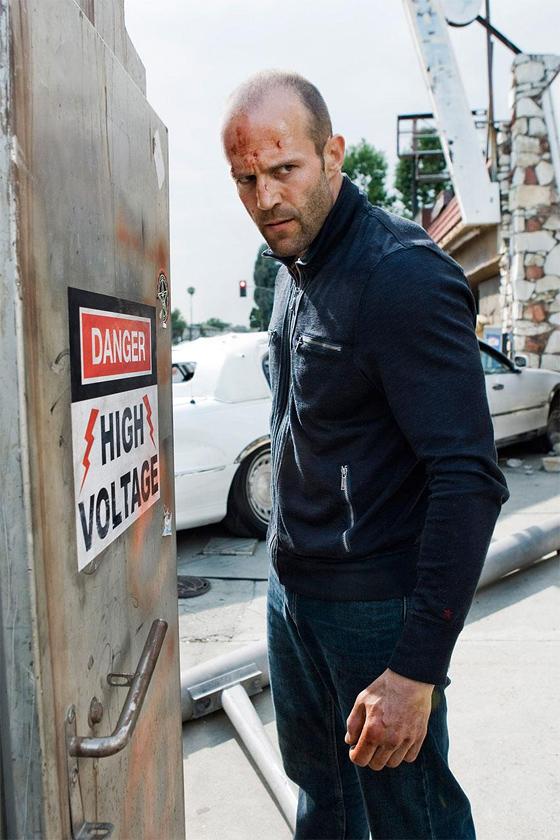 Jason Statham in Crank 2: High Voltage