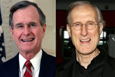 James Cromwell as George Bush Sr.