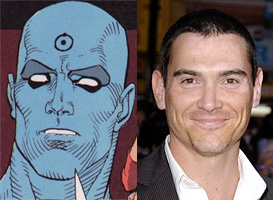 Billy Crudup is Dr. Manhattan