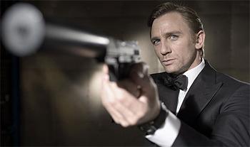 Daniel Craig as James Bond