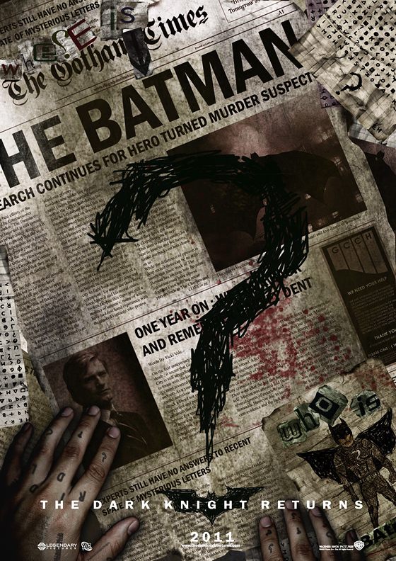 The Dark Knight Returns Poster