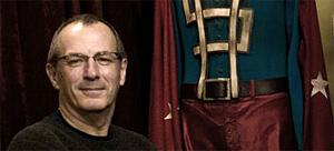 Watchmen Artist Dave Gibbons Visits The Set