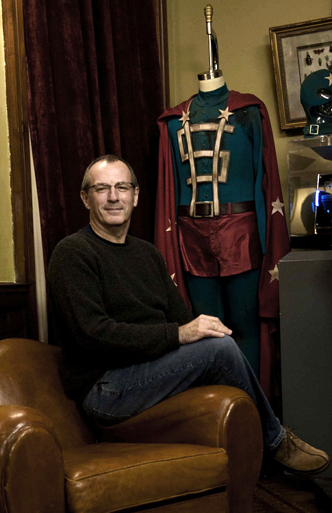 Dave Gibbons on the Watchmen Set