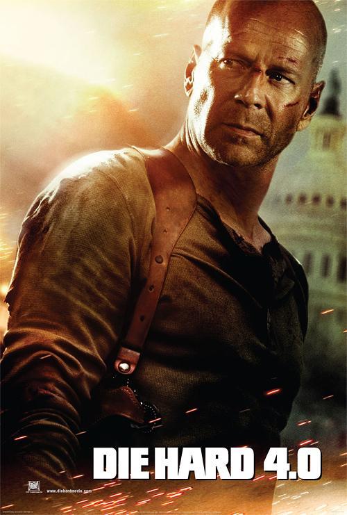 Die Hard 4.0 Poster